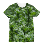 All over print cannabis bud weed Classic Sublimation Women's T-Shirt