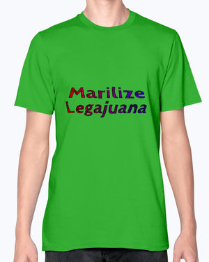 Marilize Legajuana legalize marijuana cannabis weed fashion fit T shirt