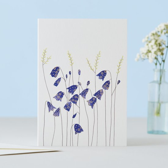 Harebells And Grass