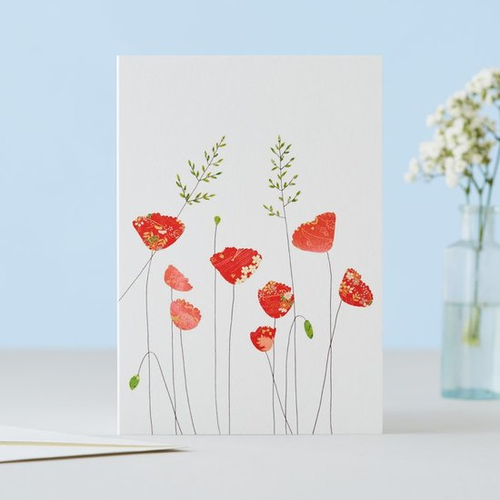 Poppies And Grass