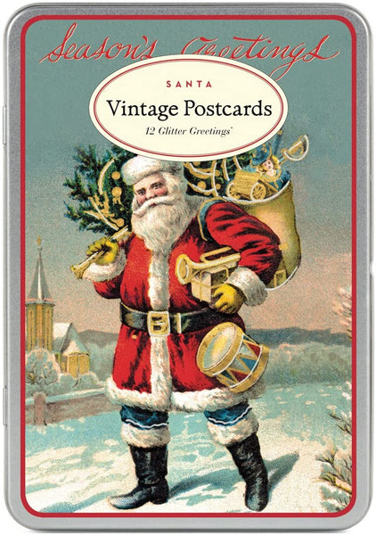 Santa Claus Vintage Postcards