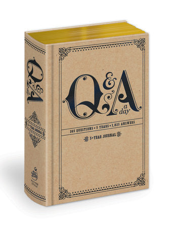 Q&A A DAY: A FIVE YEAR JOURNAL