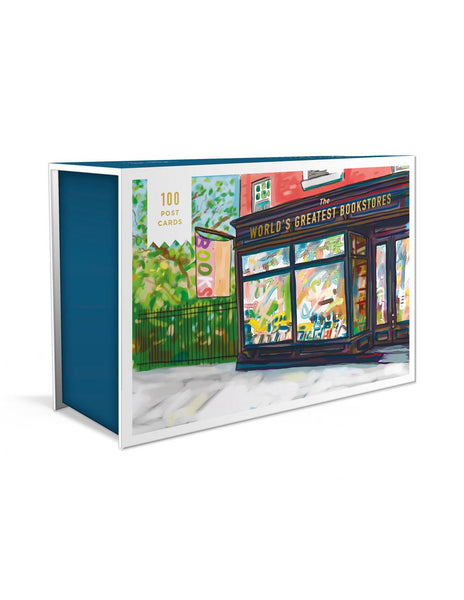WORLD'S GREATEST BOOKSTORES 100 Postcards
