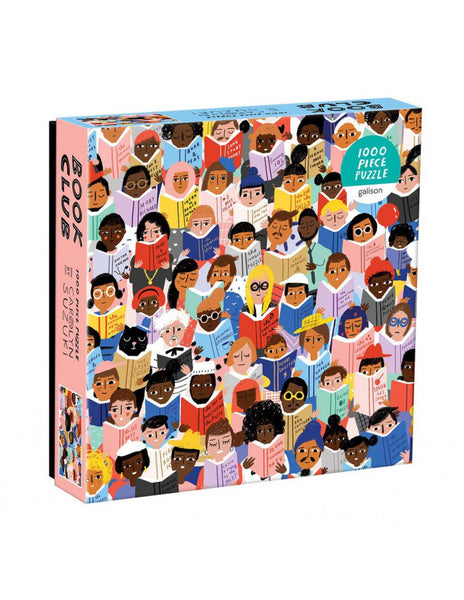 BOOK CLUB 1000 Piece Foil Puzzle