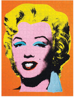 Warhol Marilyn 500 Piece Double Sided Puzzle