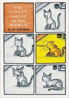 THE CUTEST SNEEZE IN THE WORLD 30 cat postcards