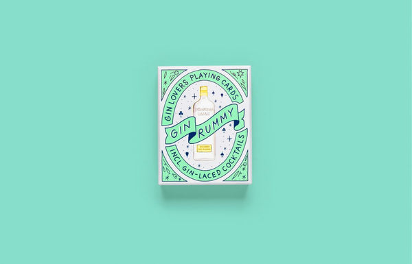 Gin Rummy Gin Lovers Playing Cards