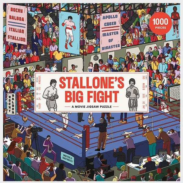 Stallone's Big Fight, A Movie Jigsaw Puzzle (1000 pieces)