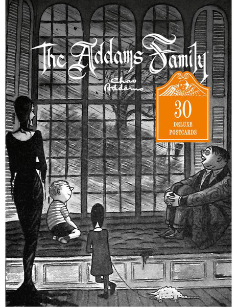 THE ADDAMS FAMILY 30 Deluxe Postcards