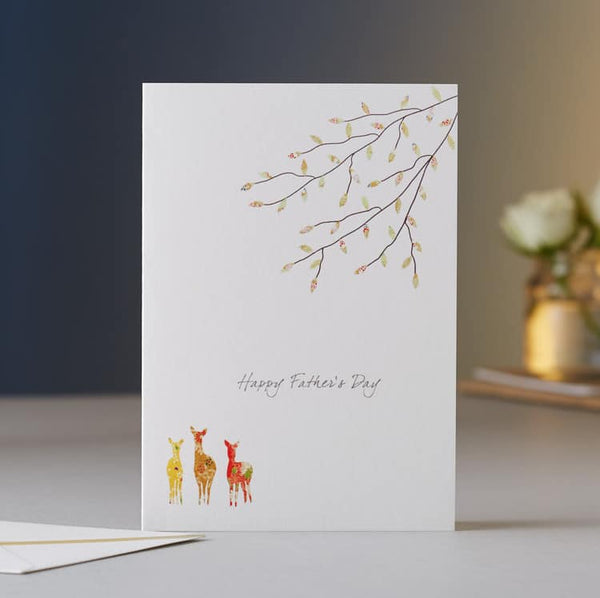 Father's Day Deer Card