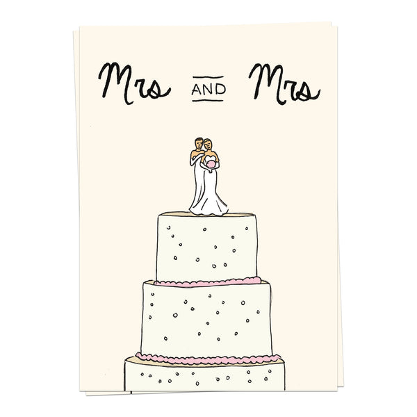 Mrs and Mrs - marriage