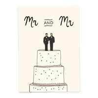 Mr and Mr - marriage