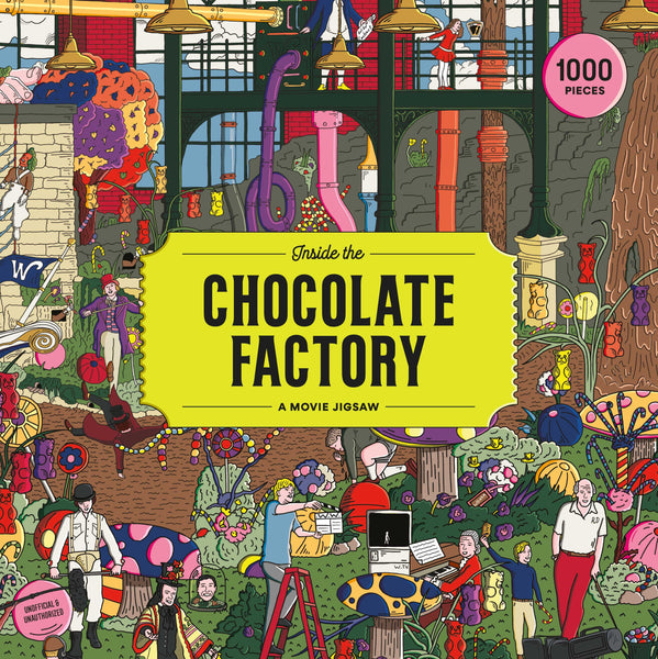 Inside the Chocolate Factory, A Movie Jigsaw