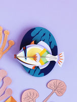 Big Picasso Fish Wall Deco