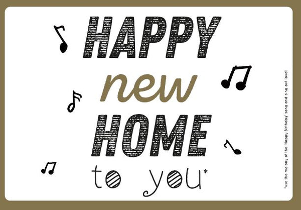 Happy New Home to You
