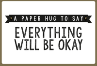 A Paper Hug To Say Everything Will Be Okay