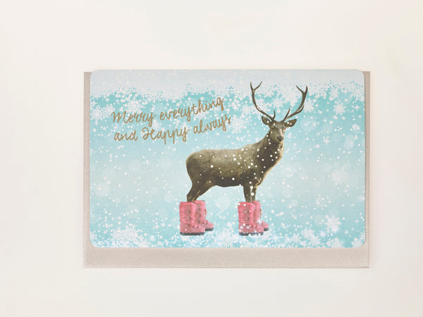 MERRY EVERYTHING AND HAPPY ALWAYS (Set of 5 cards)