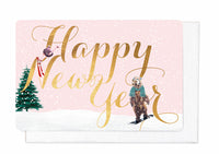 HAPPY NEW YEAR (Set of 5 cards)