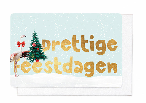 PRETTIGE FEESTDAGEN (Set of 5 cards)