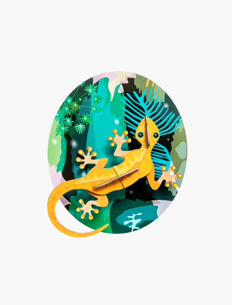 Jungle Gecko Wall Deco