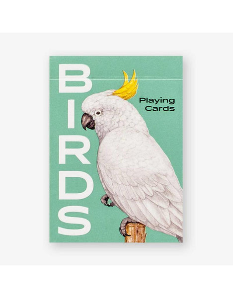 Birds - playing cards