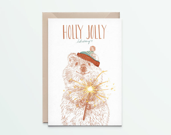 Holly Jolly Quokka