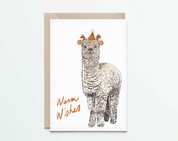 Alpaca Big – Warm Wishes