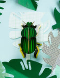 Scarab Beetle Wall Deco