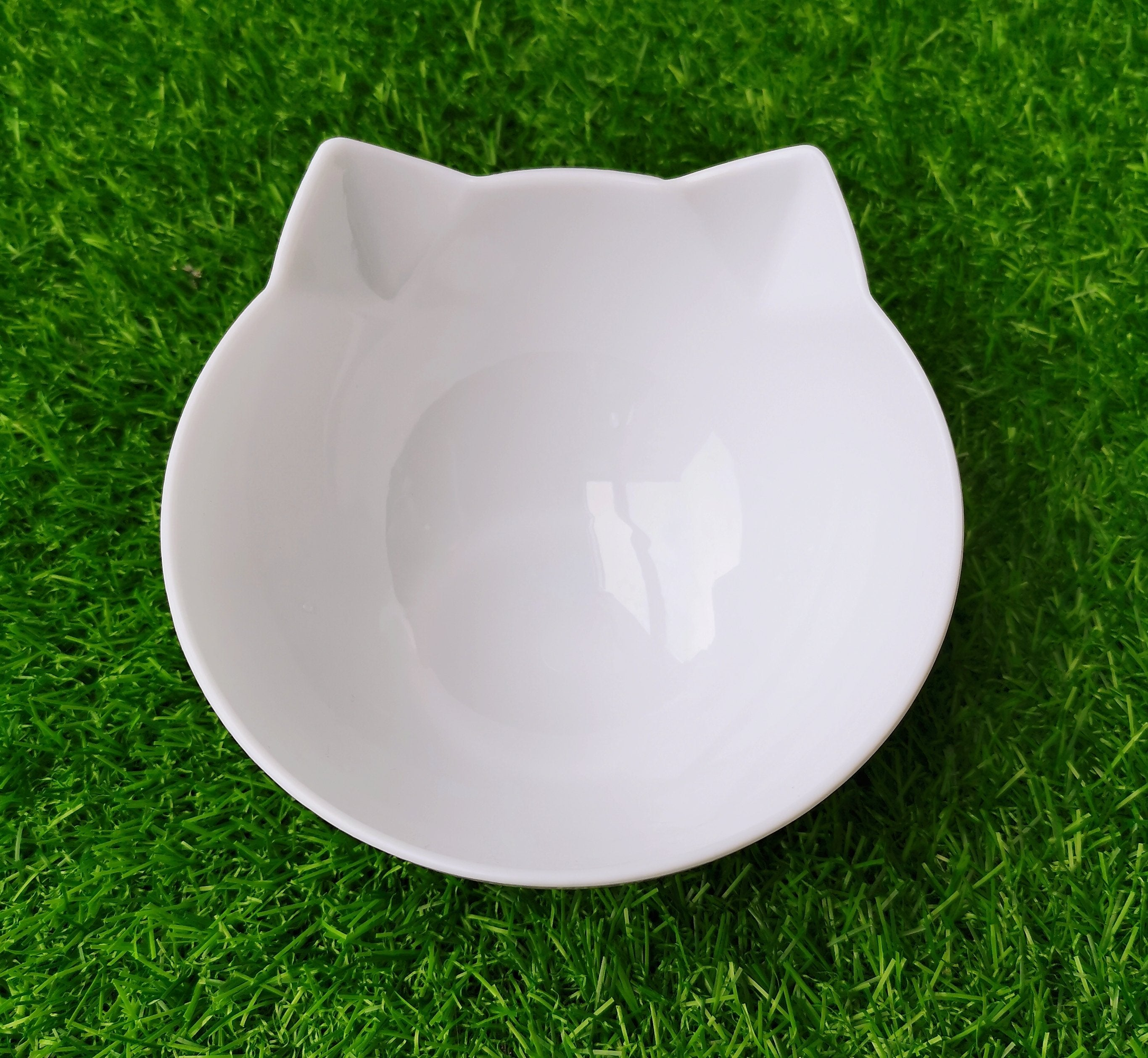 Single Bowl-White (No Stand) Petsabsolute