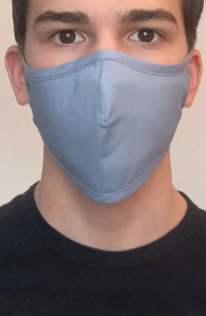 Denim Active Fashion Face mask with filter - Thebritishmask