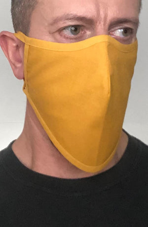 Mustard Beard Longline Face mask with filter - Thebritishmask