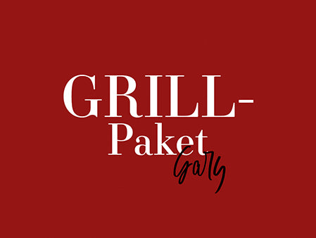 Grillpaket Gary pro Person / par personne