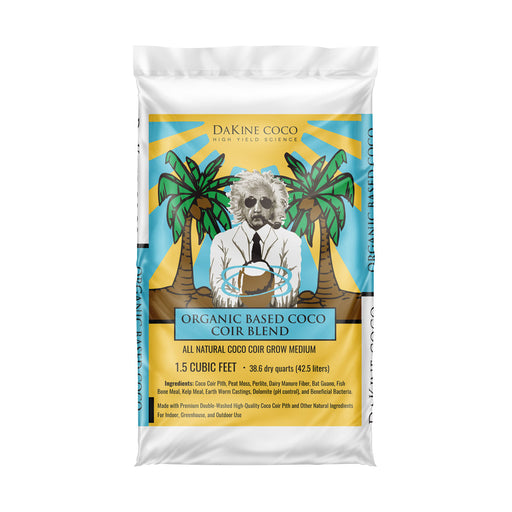 Dakine 420 Organic Based Coco Coir Blend is an all natural coco coir based soil-less organic based blend of grow media
