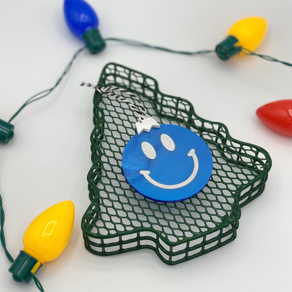 smiley guy ornament