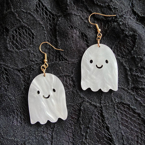 ghosty guy earrings