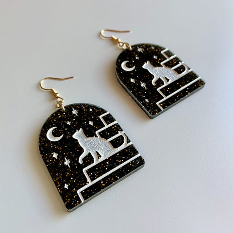 nightcat earrings