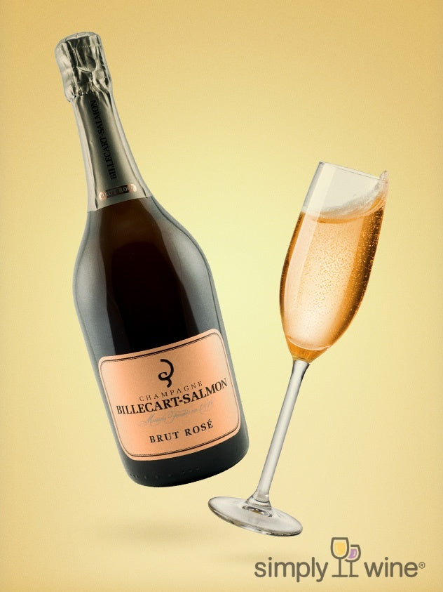 Billecart-Salmon, Brut Rosé Champagne NV 750ML