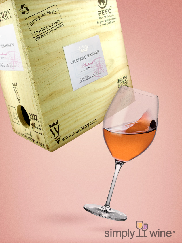 Chateau Tassin Bordeaux Rosé 3L bag in box 2019 3L