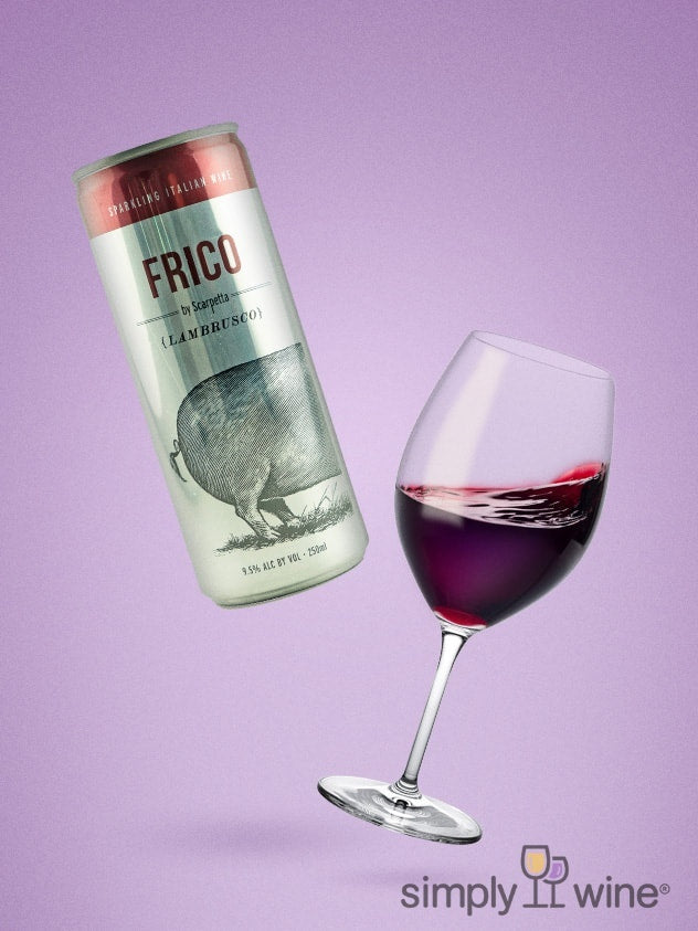 Scarpetta Frico Lambrusco 250ml can NV 250ML