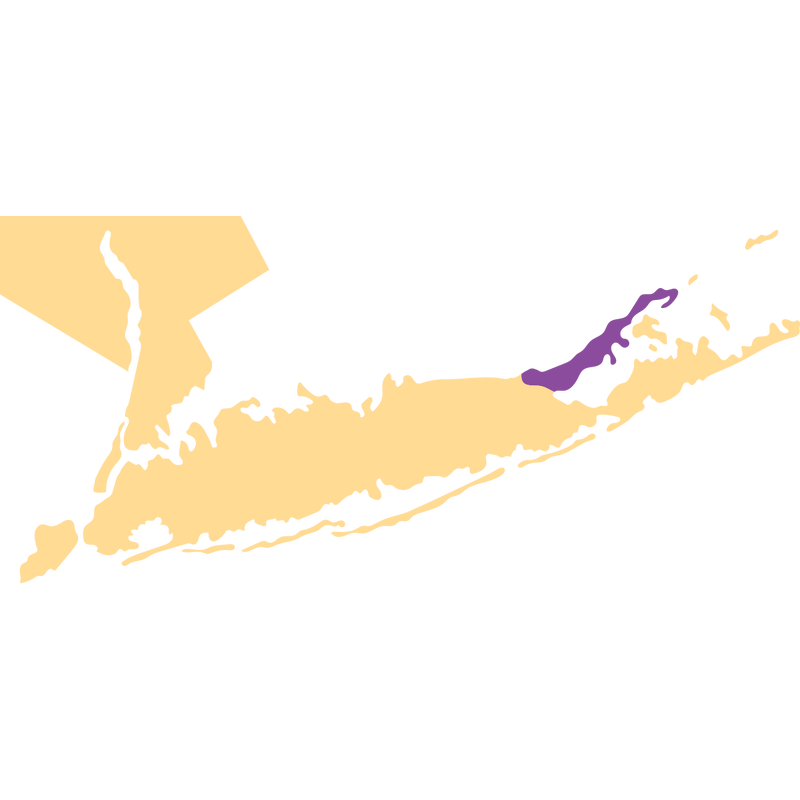 SimplyWine.com Region Map for Long Island - New York, United States