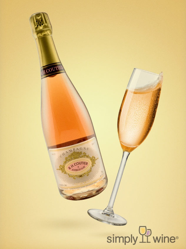 SimplyWine.com product image for: Champagne Coutier, Brut Rosé NV 750ML