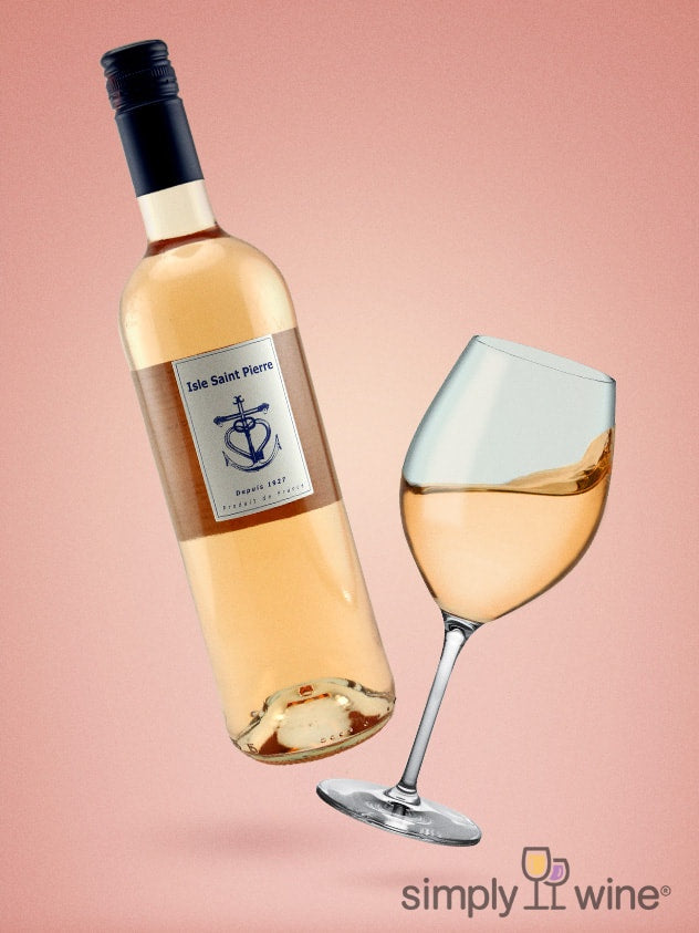 SimplyWine.com product image for: Isle Saint-Pierre Rhone Rosé 2019 750ML