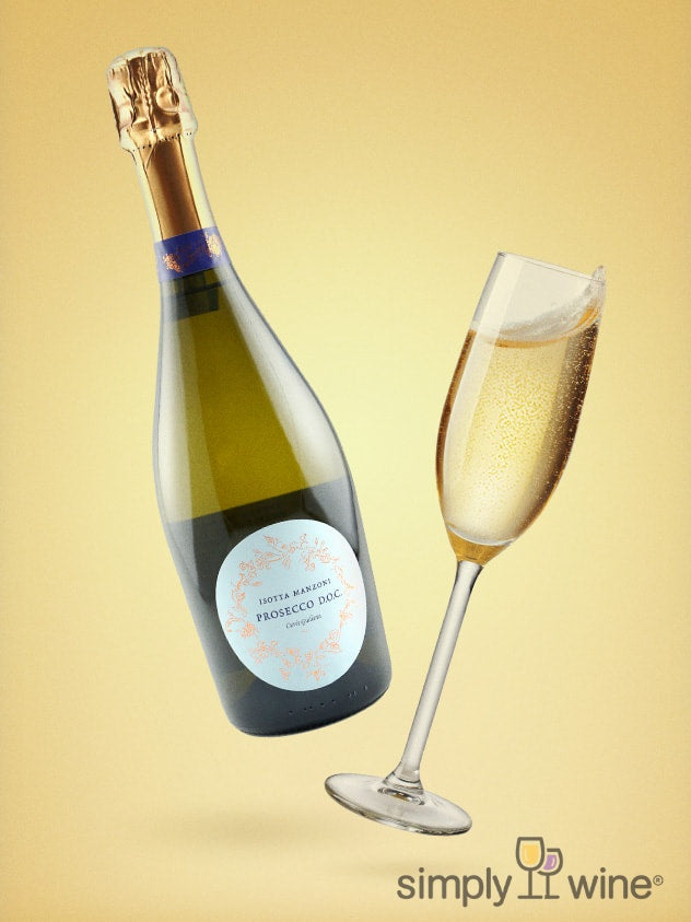 SimplyWine.com product image for: Isotta Manzoni Prosecco DOC NV 750ML