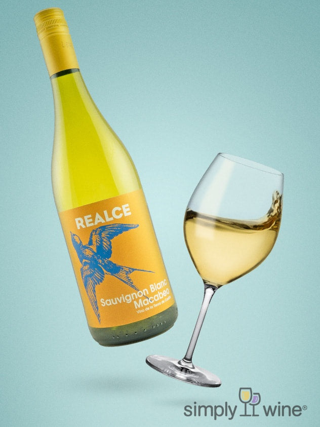 SimplyWine.com product image for: Realce Sauvignon Blanc Macabeo Blend 2018 750ML
