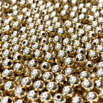 <b>Gold-Filled</b><br><i>Round Bead<br> 2, 2.5, 3, 4, 5 mm<br>pkg 100 pcs<b></i>