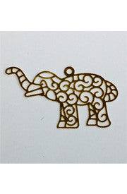 <b>Goldfilled Small Elephant</b>
