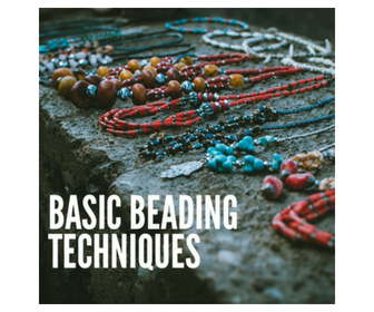 <b>Basic Beading Techniques</b> (English-Spanish)