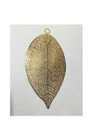 <b>Goldfilled Large Leaf</b>
