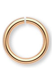 <b>Jumpring 8 mm Gold Plated </b><br><i>pkg 100 pcs</i>
