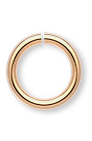 <b>Jumpring 6 mm Gold Plated </b><br><i>pkg 100 pcs</i>